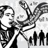 "Art: ""Dreams are stronger than fear"" by Melanie Cervantes."